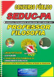 Apostila Impressa Concuso Público Seduc-PA 2021 Professor de Filosofia
