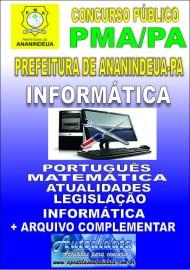 Apostila Impressa ANANINDEUA/PA 2019 - Informática