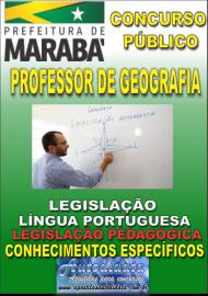 Apostila Impressa Concurso MARABÁ - PA 2018 - Professor Licenciado Em Geografia
