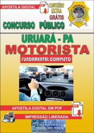 Apostila Digital Processo Seletivo de URUARÁ/PA 2019 – Motorista