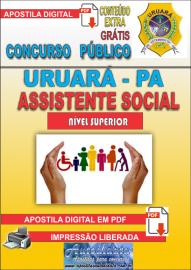 Apostila Digital Processo Seletivo de URUARÁ/PA 2019 – Assistente Social
