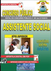 Apostila Digital Concurso - Prefeitura Municipal de Imperatriz - MA 2019 - Assistente Social