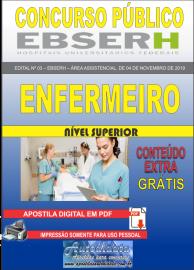 Apostila Digital Concurso EBSERH - 2019 Enfermeiro