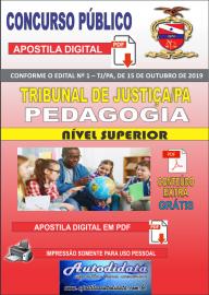 Apostila digital atualiza concurso TJ-PA 2019 - PEDAGOGIA