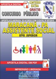 Apostila Digital Concurso de Maracanã/Pa 2019 – Assistente Social