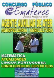Apostila Impressa Concurso EMATERCE - CE - 2018 - Agente Auxiliar De Ater – Qualificação: Agropecuária/ Agricultura