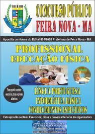 Apostila Impressa Concurso Público Prefeitura de Feira Nova - MA 2020 Área Prossional em Educação Física