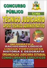 Apostila impressa TJ-MA 2019 - Técnico Judiciário / Apoio Técnico Administrativo
