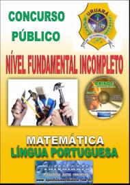 Apostila Impressa Processo Seletivo de URUARÁ/PA 2019 – Nível Fundamental Incompleto