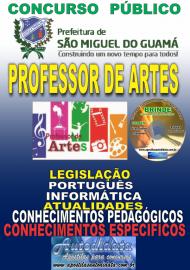 Apostila Impressa SÃO MIGUEL DO GUAMÁ/PA 2019 - Professor De Artes