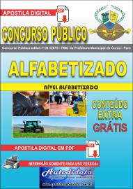 Apostila Digital Concurso Público Prefeitura Municipal de Curuá - Pará 2019 Nível Alfabetizado