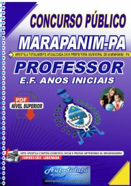 Apostila Digital Concurso Público Prefeitura de Marapanim - PA 2020 Professor de E.F. Anos Iniciais