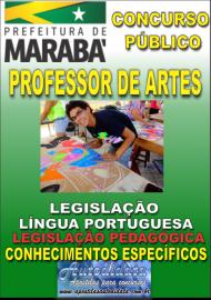 Apostila Impressa Concurso MARABÁ - PA 2018 - Professor Licenciado Em Artes