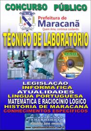 Apostila Impressa Concurso de Maracanã/Pa 2019 – Técnico De Laboratório