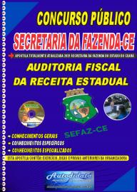 Apostila digital Concurso Público SEFAZ-CE CEARÁ  - 2021 AUDITOR FISCAL DA RECEITA ESTADUAL