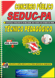 Apostila Digital Concurso SEDUC - PA 2021 Técnico de Pedagógico