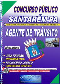 Apostila impressa concurso de SANTARÉM-PA 2021 - AGENTE DE TRÂNSITO