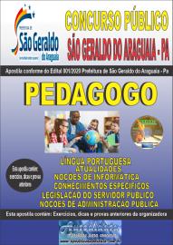 Apostila Impressa Concurso Público Prefeitura Municipal de São Geraldo do Araguaia - PA 2020 Pedagogo