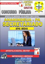 Apostila Digital ANANINDEUA/PA 2019 - Secretariado