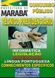 Apostila Digital Concurso MARABÁ - PA 2018 - Técnico Previdenciário