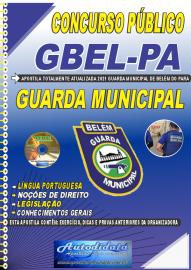 Apostila Impressa Concurso Guarda Municipal de Belém - PA 2021 Guarda Municipal