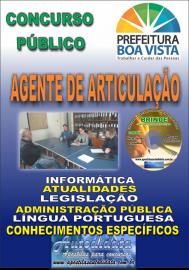 Apostila Impressa BOA VISTA/RR 2019 - Agente de articulação
