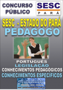 Apostila Digital concurso do SESC Estado do Par� - 2016 - PEDAGOGO - EDUCA��O INFANTIL E ANOS INICIAIS