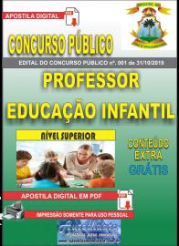 Apostila Digital Concurso - Prefeitura Municipal de Imperatriz - MA 2019 - Educação Infantil