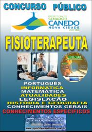 Apostila Impressa SENADOR CANEDO/GO 2020 - Analista De Saúde/Fisioterapeuta