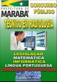 Apostila Impressa Concurso MARABÁ - PA 2018 - Técnico Em Radiologia