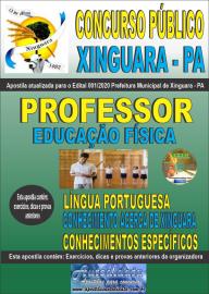 Apostila Impressa Concurso Público Prefeitura de Xinguara - PA 2020 Professor de Educação Física