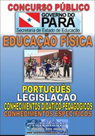 Apostila impressa Concurso SEDUC-PA 2018 - Professor de Educação Física