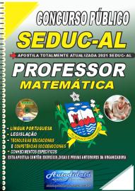 Apostila Impressa Concurso SEDUC - AL 2021 Professor de Matemática
