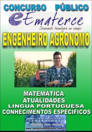 Apostila Impressa Concurso EMATERCE - CE - 2018 - Engenheiro Agrônomo
