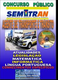 Apostila Impressa Concurso SEMUTRAN Ananindeua/PA 2019 - Agente Municipal de Transporte e Trânsito
