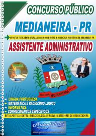 Apostila Impressa Concurso Público Prefeitura de Medianeira 2020 Assistente Administrativo