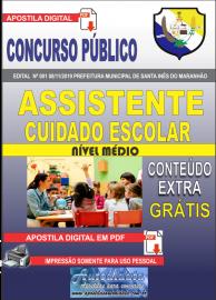 Apostila Digital Concurso Prefeitura Municipal de Santa Inês - Maranhão 2019 Assistente Cuidado Escolar