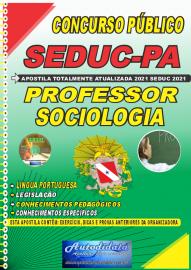 Apostila Impressa Concuso Público Seduc-PA 2021 Professor de Sociologia