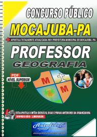 Apostila Digital Concurso Público Prefeitura de Mocajuba - PA 2021 Professor de Geografia
