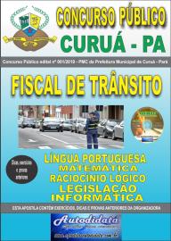 Apostila Impressa Concurso Público Prefeitura Municipal de Curuá - Pará 2019 Fiscal de Trânsito