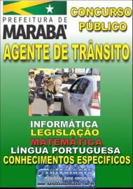 Apostila Impressa Concurso MARABÁ - PA 2018 - Agente De Trânsito
