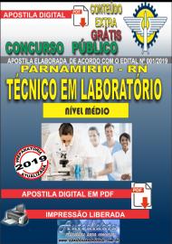 Apostila Digital Concurso PARNAMIRIM – RN/2019 - Técnico em Laboratório