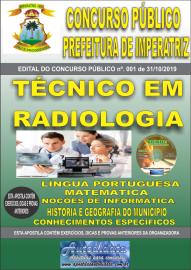 Apostila Impressa Concurso - Prefeitura Municipal de Imperatriz - MA 2019 - Técnico em Radiologia