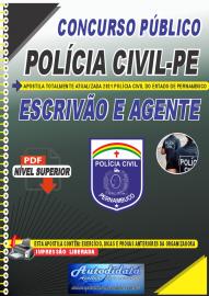 Apostila Digital Concurso PC-PE 2021 Escrivão e Agente