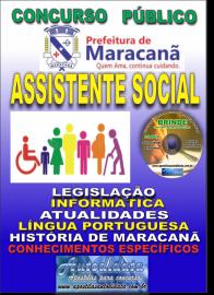 Apostila Impressa Concurso de Maracanã/Pa 2019 – Assistente Social