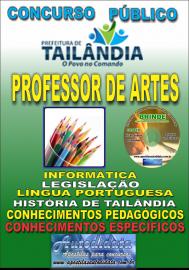Apostila Impressa TAILÂNDIA/PA 2019 - Professor De Artes