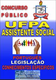 Apostila impressa Concurso UFPA-PA 2018 - Assistente Social