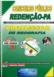 Apostila Digital Concurso Público Prefeitura de Redenção - PA 2020 Professor de Geografia