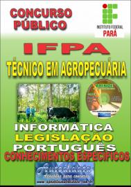 Apostila Impressa concurso IFPA 2019 – Técnico Em Agropecuária