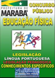 Apostila Impressa Concurso MARABÁ - PA 2018 - Professor Licenciado em Educação Física
